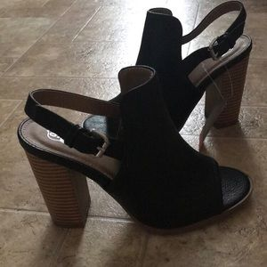 Shoes - Size 6 Open Back Heels